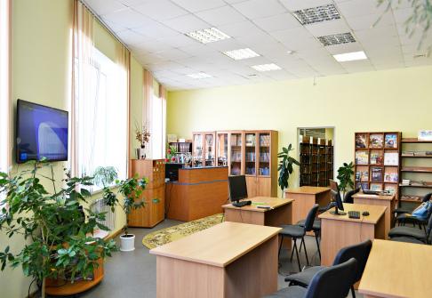 Отдел обслуживания районной библиотеки